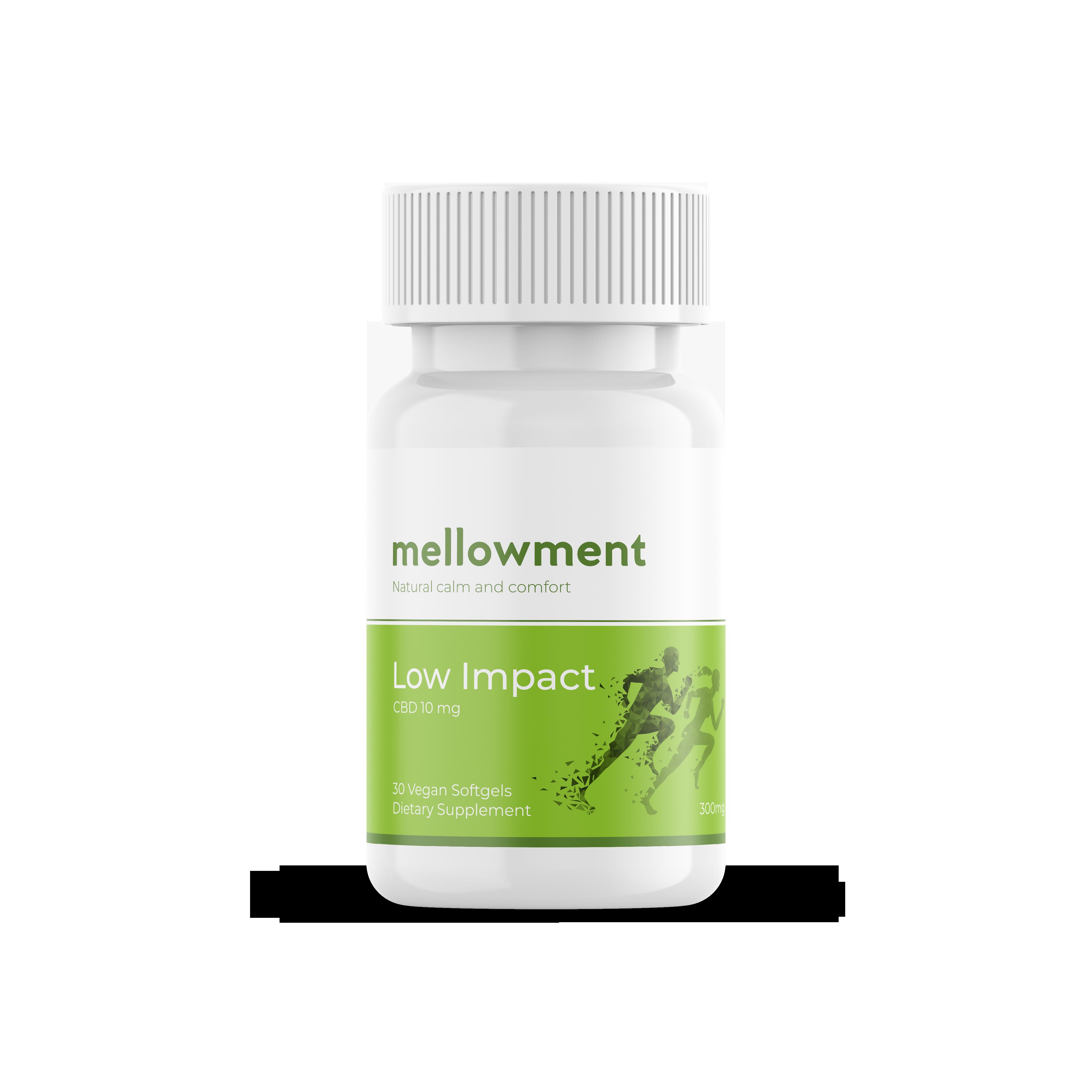 Mellowment Bottle Label