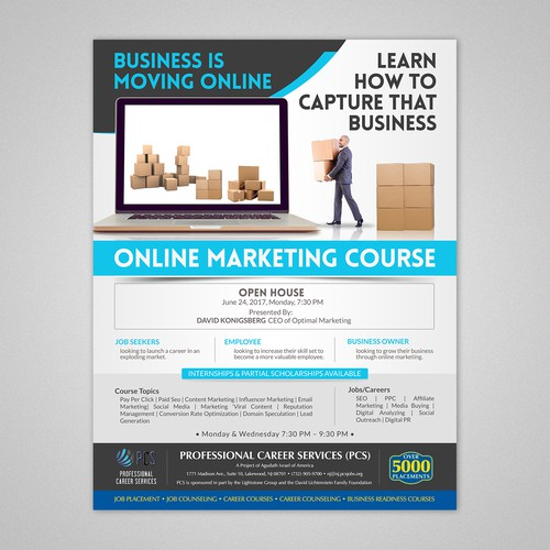 PCS Online Marketing Course