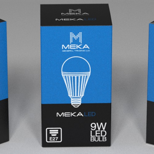 Packaging for LED light bulb