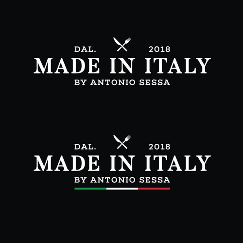 Made in Italy restaurant