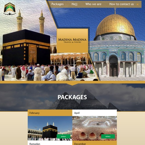 Website for Madina Madina
