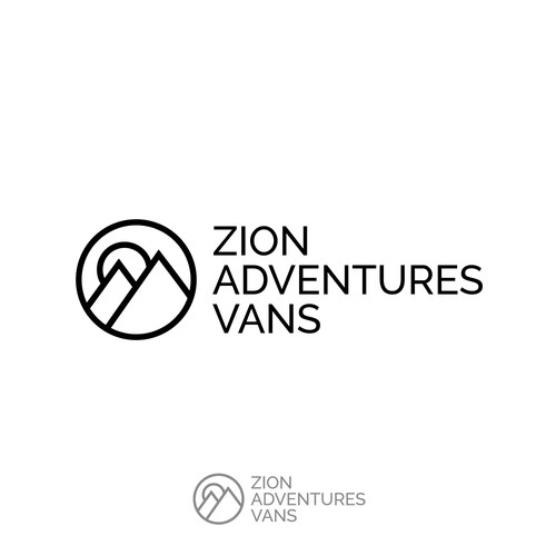 Logo for a high end camper vans rental