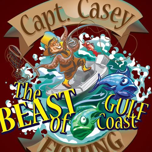 Capt. Casey - The Beast of the Gulf Coast!
