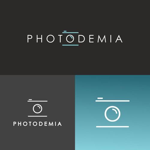 Logo concept for photodemia