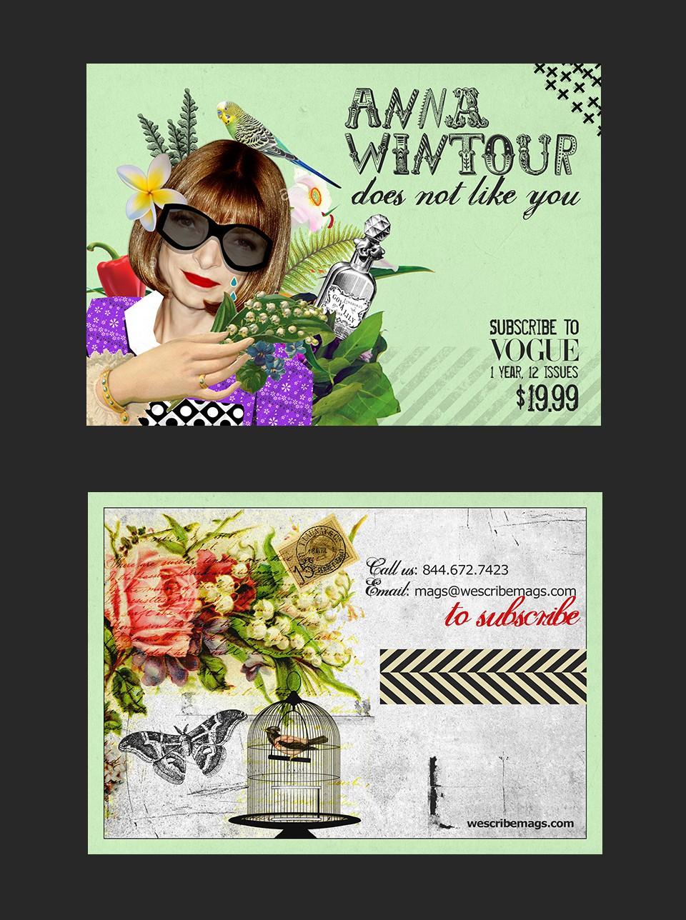 Magazine Postcard Contest