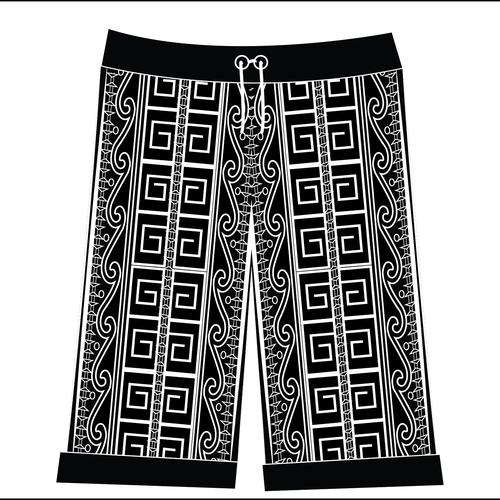 Hawaiian Tribal Shorts