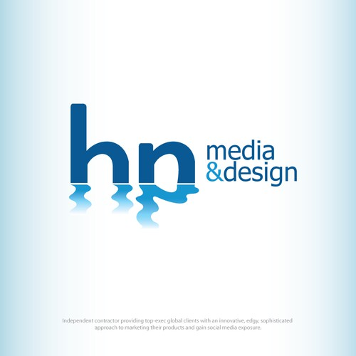 HP Media&Design winner logo contest