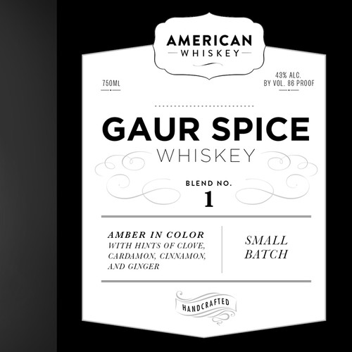 Whiskey Label  //  Let's create a beautiful design!