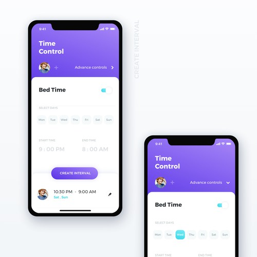Design of a Parental control app