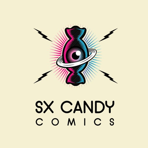SX Candy Comics Logo