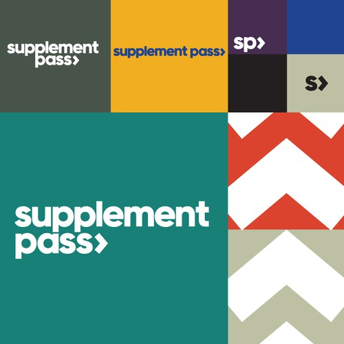 Supplement Pass Logo Design