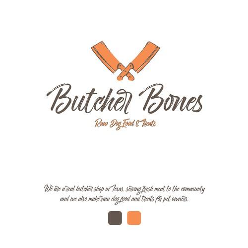 Dog Food / Butcher Logo