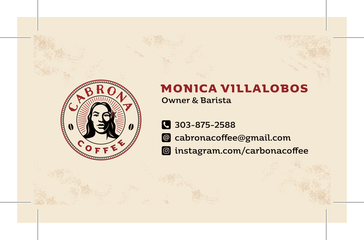 Business card for Cabrona