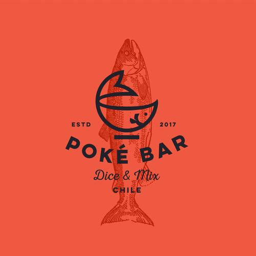 Logo for Poke bar