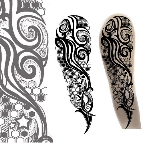 tatto tribals and geometric