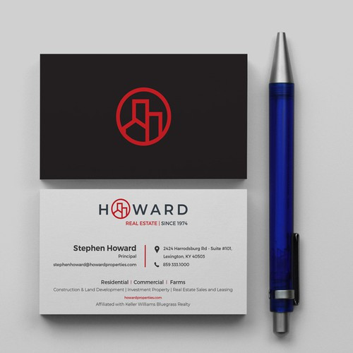 Business Card for Real Estate Brand