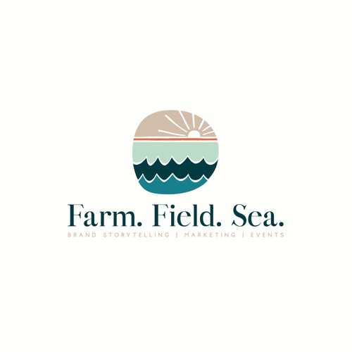 Brand Identity for Farm. Field. Sea.
