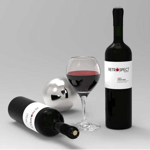 Retrospect Wine Label