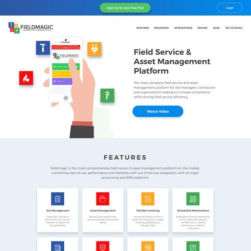Fieldmagic Website Refresh