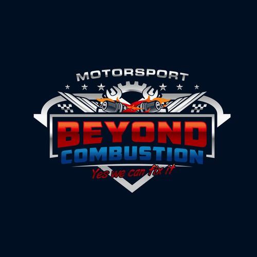Motorsport garage logo