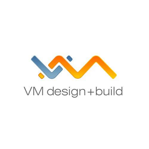 Bold Logo for VM design+Build