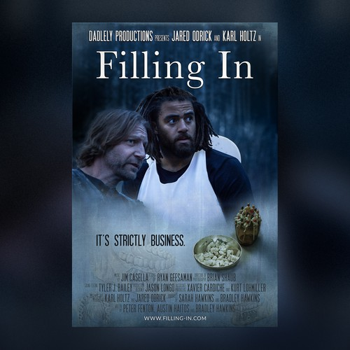 "Movie Poster ""Filling In"""