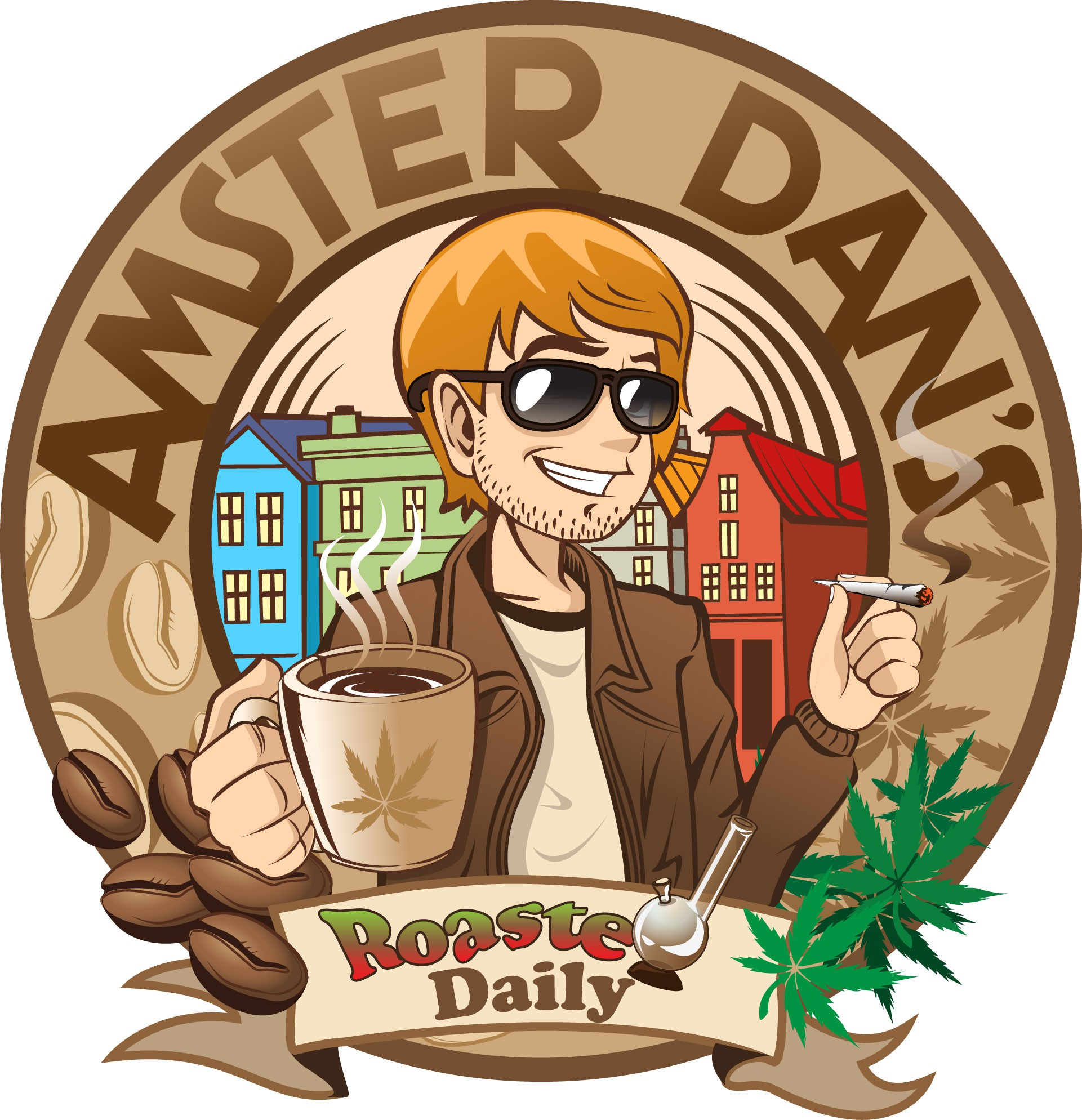 Help Amster Dan's  with an illustration