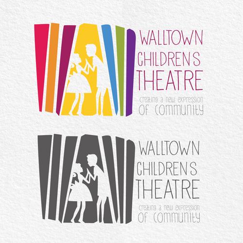 Logo for children theater
