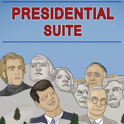 Illustration for theater production: Presidential Suite