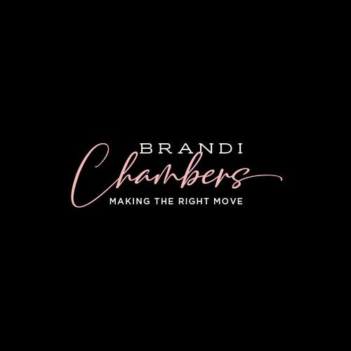 Brandi Chambers logo design