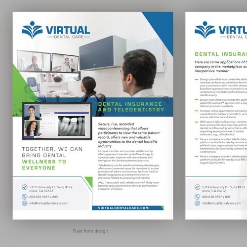 Virtual Dental Care Flyer