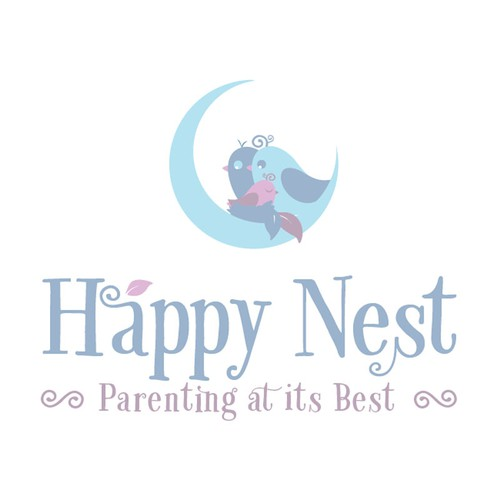 Create a beautiful illustration for Happy Nest!