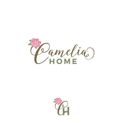 Feminine logo for home furnishing store