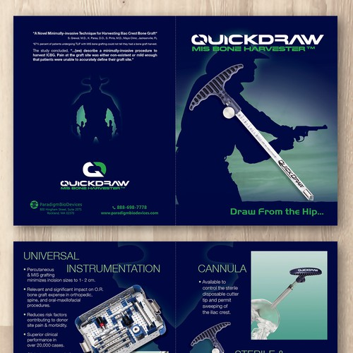 Quickdraw MIS Bone Harvester