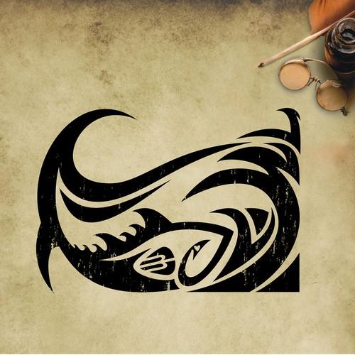 Surfer Style Ocean/Fish Tattoo Art