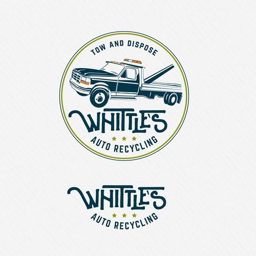 Vintage Auto Cycling Logo