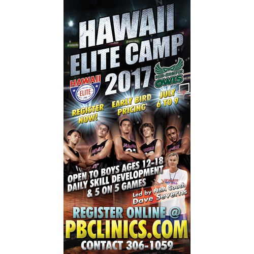 Hawaii Elite Camp Banner