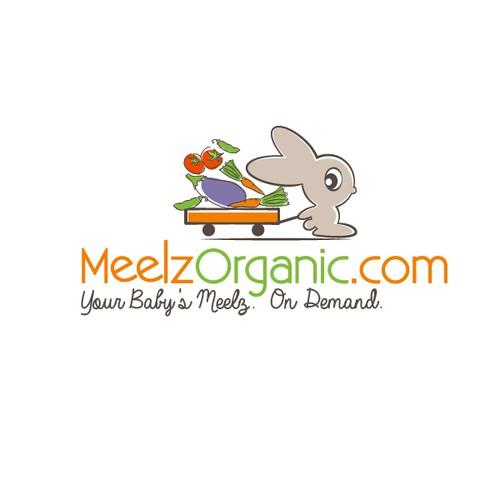 MeelzOrganic.com logo design