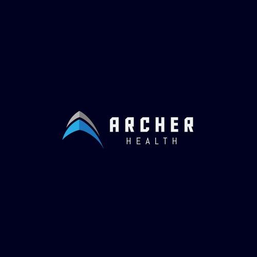 A simple arrowhead logo
