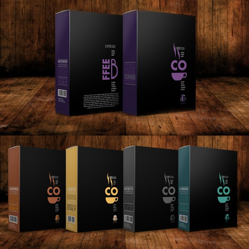 Design a eye-catching pkg for Specialty /Coffee / espresso