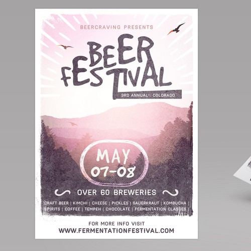 poster for beer festival