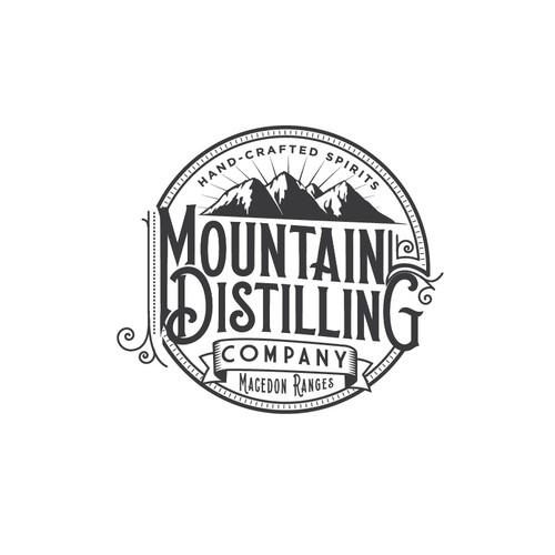 Distillery logo design