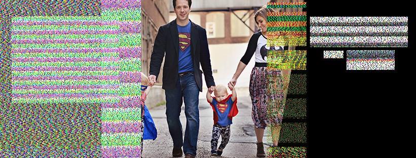 Superhero themed Facebook cover Photo for Fashion/Shopping group