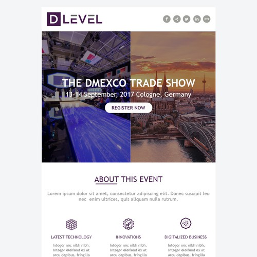 Event Email Design
