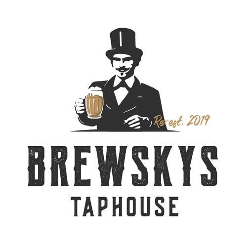 Brewskys Taphouse Identity Design