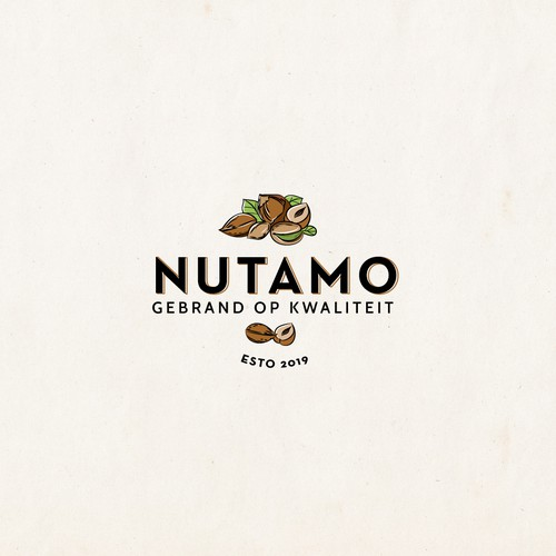 Create a new logo for a food (nuts/superfoods) brand