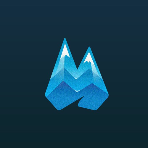 Tooth and Mountain logo theme