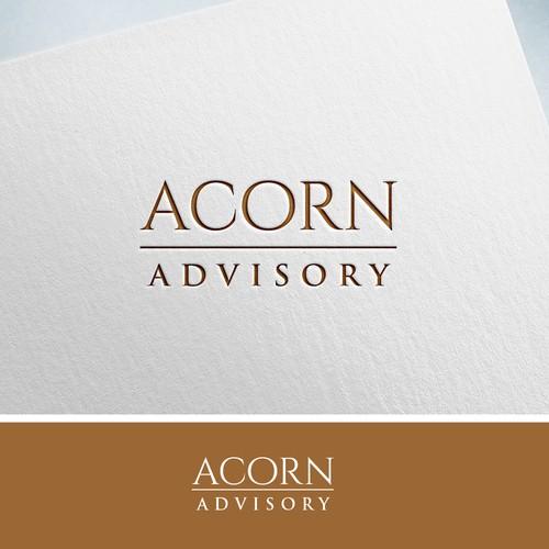 Acorn Advisory - Corporate Logo Design