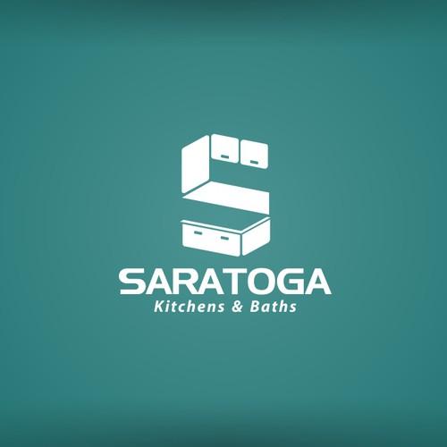 simple logo design for Saratoga