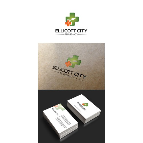 Create a winning logo for ellicott city pharmacy